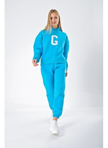 Goja Sport Sweatshirt Turkuaz